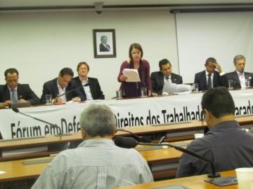 Fórum de Combate à Terceirização envia carta à presidente Dilma contra retrocessos jurídicos para os trabalhadores