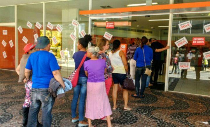 Greve ganha força e ultrapassa marca de cem agências fechadas na Região de Jundiaí